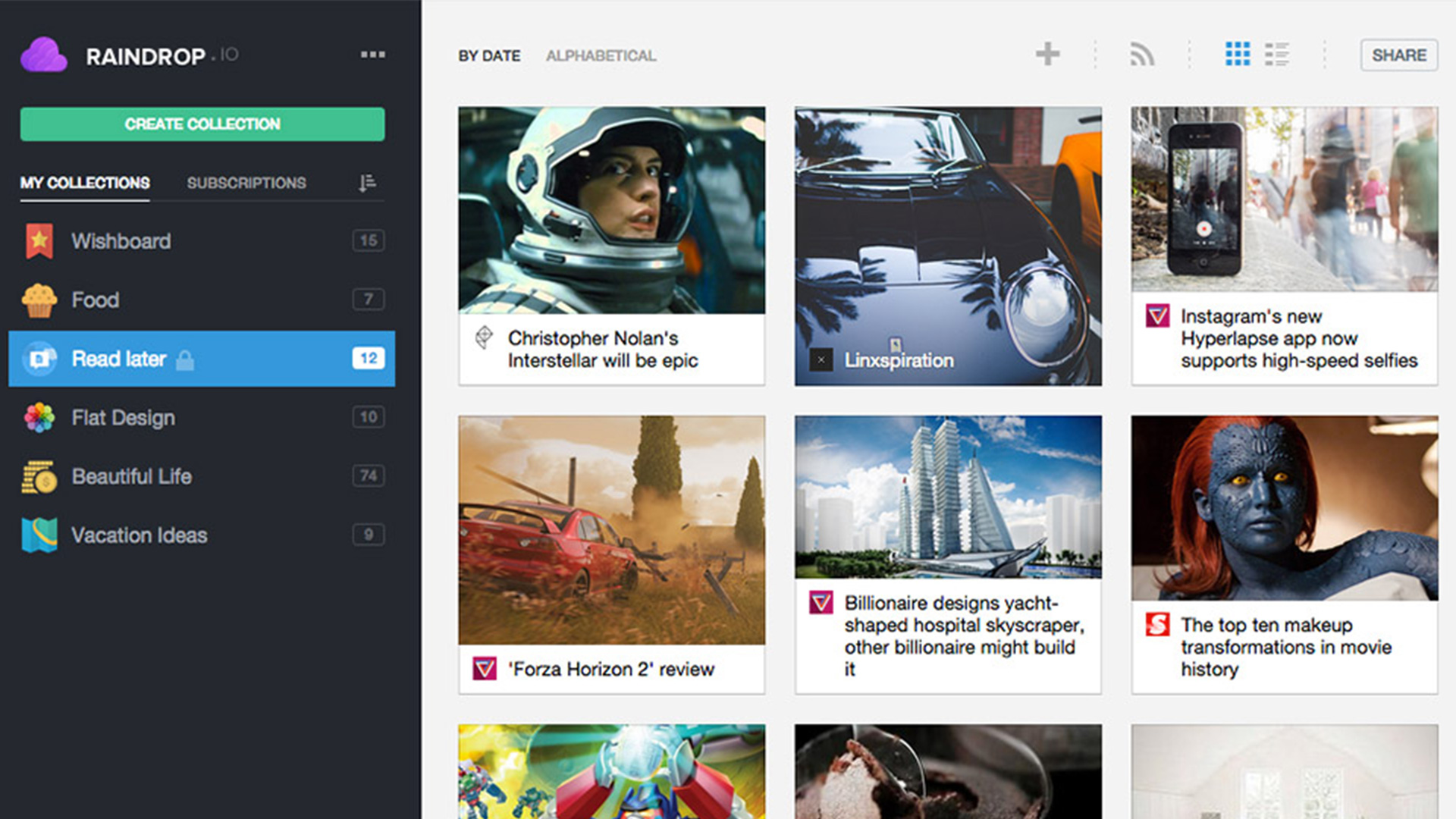 Dropmark Extension the 15 best chrome bookmark managers | creativesfeed